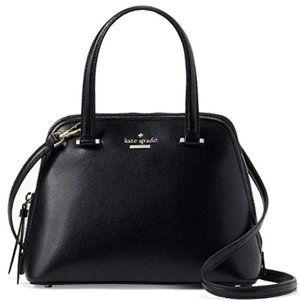 Handbags - Small dome Satchel Wallet Black